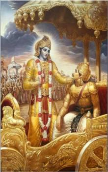 medium go hi kr 010 lord shree krishna with arjun mahabharat original