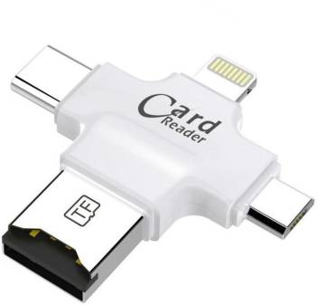 CASEMANTRA 4 in 1 Card Reader For Android Compatible With Type - c Card  Reader Price in India - Buy CASEMANTRA 4 in 1 Card Reader For Android  Compatible With Type -