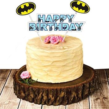 Strange Party Propz Multicolor Cake Topper Set Of 1 Batman Birthday Personalised Birthday Cards Paralily Jamesorg