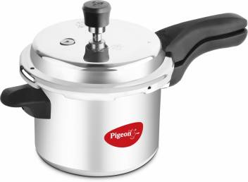Pigeon Deluxe 3 L Pressure Cooker Price in India - Buy Pigeon Deluxe 3 L Pressure  Cooker online at Flipkart.com
