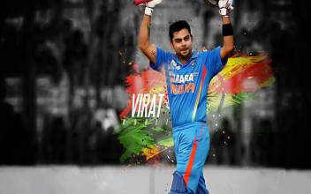Virat Kohli On Fine Art Paper Hd Quality Wallpaper Poster Fine Art Print Art Paintings Posters In India Buy Art Film Design Movie Music Nature And Educational Paintings Wallpapers At Flipkart Com