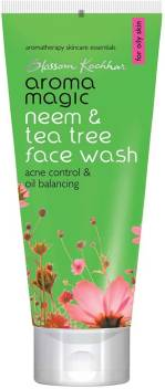 Aroma Magic Neem & Tea Tree Face Wash  (100 ml)