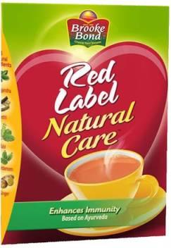 Red Label Natural Care Cardamom, Ginger, Liquorice, Tulsi Tea Box