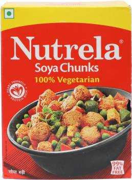 Nutrela Soya Chunks Price in India - Buy Nutrela Soya Chunks ...