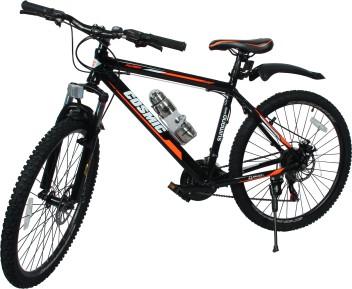 "26/"" Mountain Bike 18 Speed Hybrid Bicycle Shimano SUSPENSION FORK School Sports"