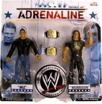 WW World Wrestling Adrenaline Series 32 Figures Miz and Morrison Jakks