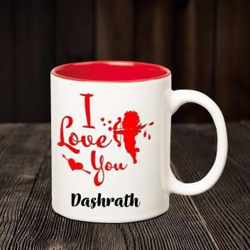 Chanakya I Love You Dashrath Romantic Inner Red Coffee Name Mug Ceramic Coffee Mug Price In India Buy Chanakya I Love You Dashrath Romantic Inner Red Coffee Name Mug Ceramic Coffee