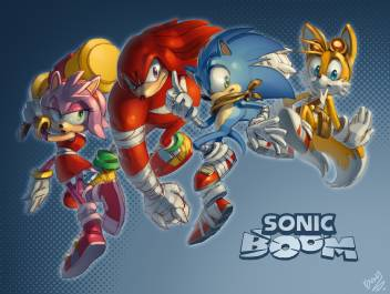 Ananyadesigns Tv Show Sonic Boom Sonic The Hedgehog Knuckles The Echidna Amy Rose Miles Paper Print Tv Series Posters In India Buy Art Film Design Movie Music Nature And Educational