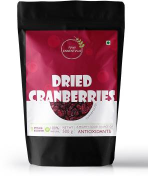 Raw Essentials Whole dried Cranberries Price in India - Buy Raw