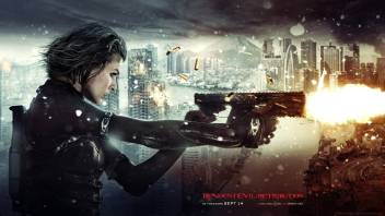 Pl Movies Resident Evil Retribution Milla Jovovich Wall Poster 19