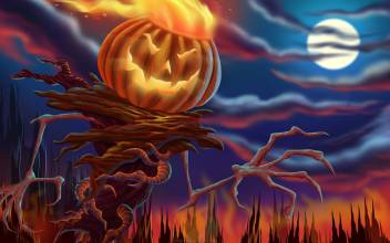 Ashd Anime Halloween Screensavers Saverss Screen Wall Poster Paper Print Animation Cartoons Posters In India Buy Art Film Design Movie Music Nature And Educational Paintings Wallpapers At Flipkart Com