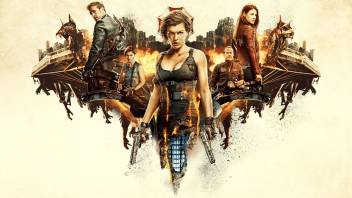Ashd Resident Evil The Final Chapter Wall Poster Paper Print
