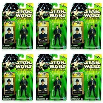 Build Your Armies 6 Figure Pack Cloud City Capture Star Wars Power of The Jedi 2000 Action Figure Set Army Builder BESPIN Guard