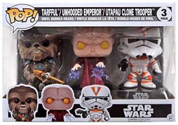Generic Funko Pop Star Wars Tarfful Unhooded Emperor Utapau Clone Trooper Revenge Of The Sith Exclusive Vinyl Figures Funko Pop Star Wars Tarfful Unhooded Emperor Utapau Clone Trooper Revenge Of The