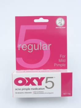 Oxy 5 Acne Pimple Medication 25g Price In India Buy Oxy 5 Acne Pimple Medication 25g Online At Flipkart Com