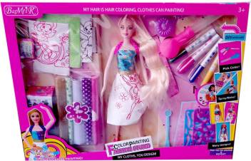 Shoppernation Fancy Clothing Designing Doll Play Set Fancy Clothing Designing Doll Play Set Shop For Shoppernation Products In India Flipkart Com