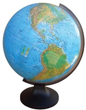 "Brand New! Replogle Spectrum World Globe 6/"" Slate-Colored Ocean"