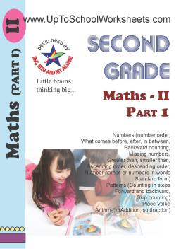 Class 2 Math Worksheets Part 1-CBSE/ICSE-With Answer Key: Buy Class 2 Math  Worksheets Part 1-CBSE/ICSE-With Answer Key by UpToSchoolWorksheets at Low  ...