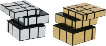 Yamama Magic Cube Puzzle Combo Gold Mirror Silver Mirror Cube Magic Cube Puzzle Combo Gold Mirror Silver Mirror Cube Buy Mirror Cube Toys In India Shop For Yamama