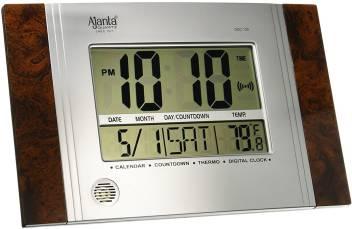 Ajanta Digital 9 cm X 10 cm Wall Clock
