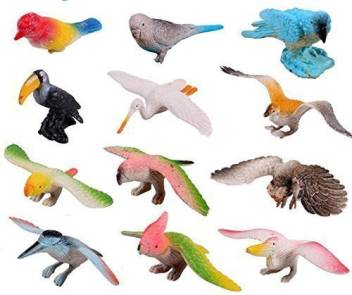 Generic Amaonm Pack Of 12 3d Plastic Flying Birds Animals Figure Toy Model Set Kids Toy Multi Color Kids Education Puzzle Learning Toys Price In India Buy Generic Amaonm Pack Of 12
