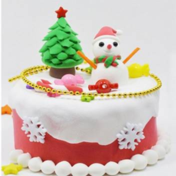 Terrific Oncemore Diy Dough Clay Toy Birthday Cake Model Set Children Kids Personalised Birthday Cards Veneteletsinfo