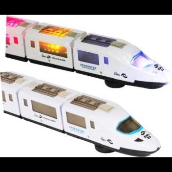 Pull Back Bullet Train Toy Child Kids Boy Girl Gift Toy Vehicles Train Models FB