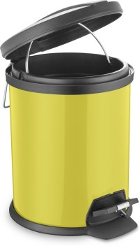 20/ Litre Container//Lid Bottle Steel Barrel Bin Bin New Yellow