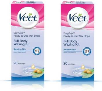 Veet Full Body Waxing Kit Strips Price In India Buy Veet Full Body Waxing Kit Strips Online In India Reviews Ratings Features Flipkart Com