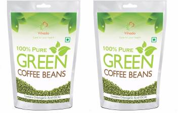 Vihado Nutrition Green Coffee Beans For Weight Loss 50gm X 2