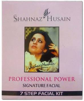 SHAHNAZ HUSAIN 7 STEP SIGNATURE CONTROL FACIAL KIT 48 g  (Set of 7)