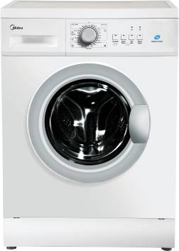 Midea 7 kg Fully Automatic Front Load Washing Machine with In-built Heater  White
