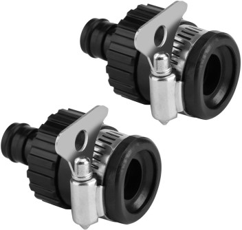 """Universal Tap Connector Adapter 1//2/"""" Mixer Kitchen Car Hose Pipe Joiner Fitting"""