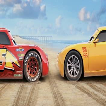 Cars 3 Lightning Mcqueen Cruz Ramirez Wall Decor Poster Home Decor Decorations 3d Poster Total Home Posters Art Paintings Posters In India Buy Art Film