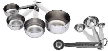 GENENIC Measuring Cup 9 Piece Set Color Plastic Measuring Spoon Measuring Cup Combination Flour Baking Spoon Measuring Spoon Set