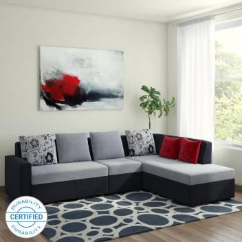 Tremendous Bharat Lifestyle Nano Fabric 6 Seater Sofa Machost Co Dining Chair Design Ideas Machostcouk