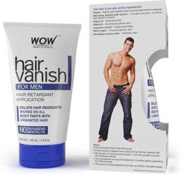 Wow Skin Science Wow Hair Vanish For Men No Parabens Mineral