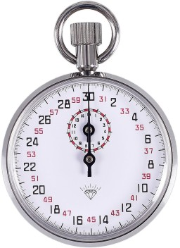 Mechanical Stopwatch Sports Chronograph Running Timer Handheld Stopwatch  X