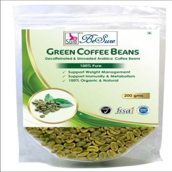 Besure Organic Green Coffee Beans For Weight Loss Roast Ground