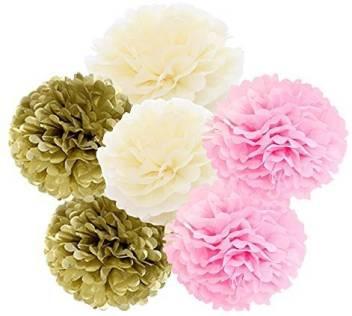 Daily Mall Paper Pom Poms Diy Art Craft Tissue Paper Flower
