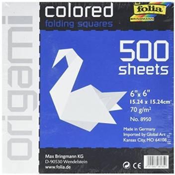 Origami Paper Metallic Color - 150 mm - 5 sh - Bulk Buy   351x352