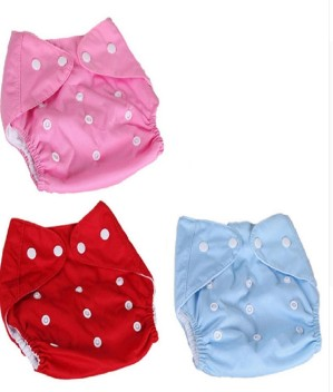 5 INSERTS Adjustable Reusable Lot Baby Washable Cloth Diaper Nappies 5 Diapers