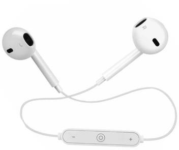 Allmusic 100 Original Genuine Best Buy Airpods Earphones Earbuds Beats Powered Wireless S 6 Jogger Sports Bluetooth Jogger Earphone Handfree Waterproof Sweatproof Compatible With All Apple Devices Bluetooth Headset Price In India Buy Allmusic 100