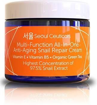 Seoul Ceuticals Korean Skin Care Snail Repair Cream Moisturizer Price In India Buy Seoul Ceuticals Korean Skin Care Snail Repair Cream Moisturizer Online In India Reviews Ratings Features Flipkart Com