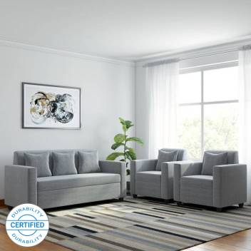 1 Light Grey Sofa Set Price