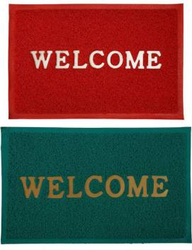 Welcome Rubber Door Mat Buy Welcome Rubber Door Mat Online At Best Price In India Flipkart Com