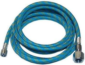 Premium-Quality 10-Ft Braided Airbrush Air Hose 1//8-1//4