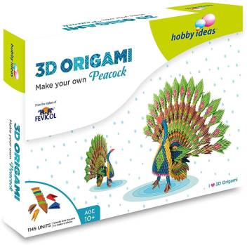 3D origami Peacock by lantern77 on DeviantArt | 349x352