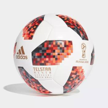 Adidas Fifa World Cup 2018 Official Match Ball Knockout Stage Football Size 5 Buy Adidas Fifa World Cup 2018 Official Match Ball Knockout Stage Football Size 5 Online At