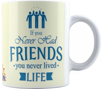 suvan friendship quotes printed tea and coffee for friend